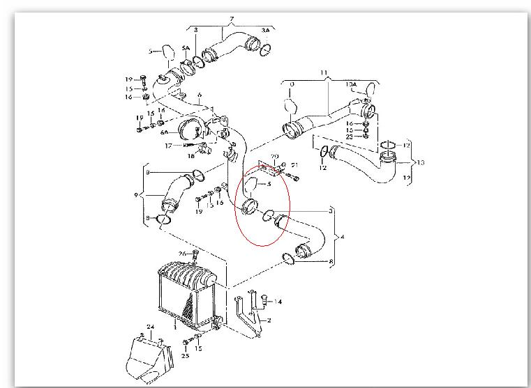 Anyway I Was Told That Clip Number 5 Retaining On Diagram Below Missing So Have Ordered This Along With 3 Seal From Vw: Vw Bora Engine Diagram At Submiturlfor.com